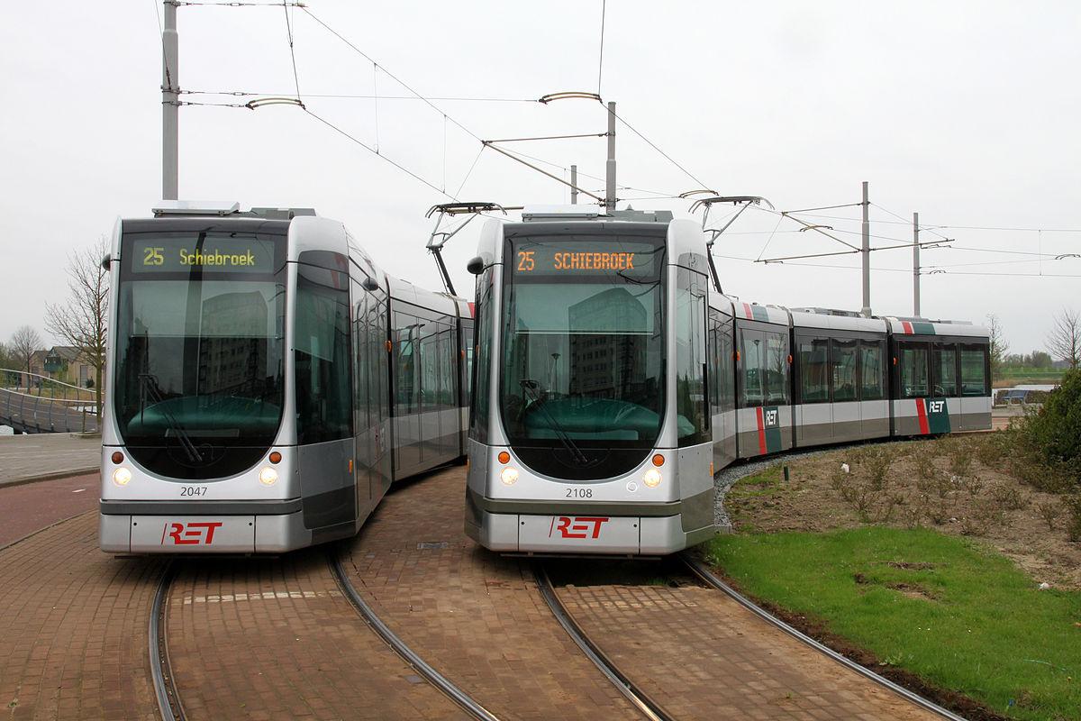 Hét dynamische openbaarvervoerbedrijf van de regio rotterdam ret